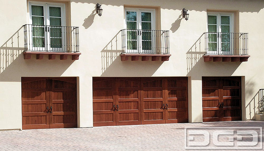 Spanish Garage Door Design