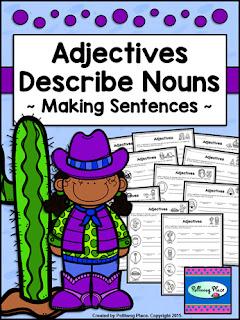 Adjectives Describe Nouns