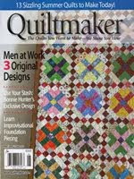 FIND BLUE RIBBON DESIGNS IN QUILTMAKER MAGAZINE - MAY/JUNE 2015