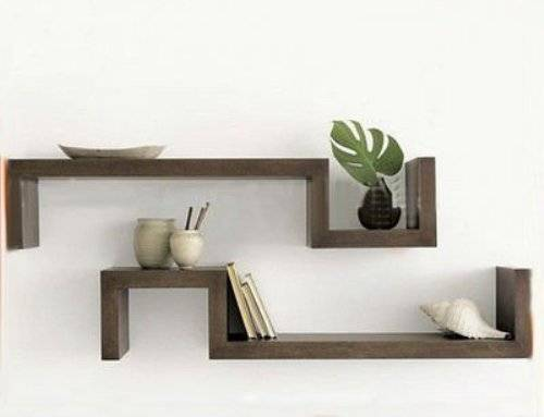 Impressive Wall Decor With Shelves Ideas