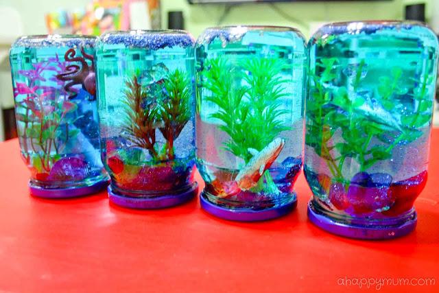 A happy mum singapore parenting blog for Aquarium decoration sealant