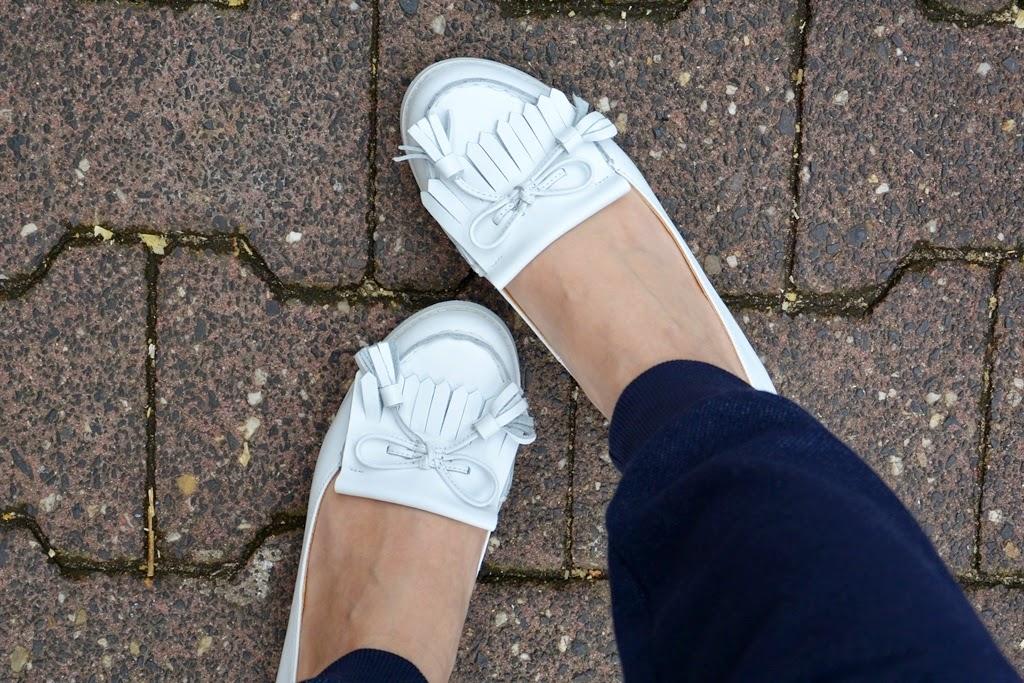 Weiße Loafers, Weiße Schuhe, Buffalo London Schuhe