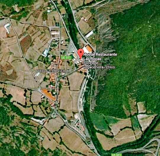 Restaurante-LasRocas-Vegacervera-Leon-Mapa-Ampliado