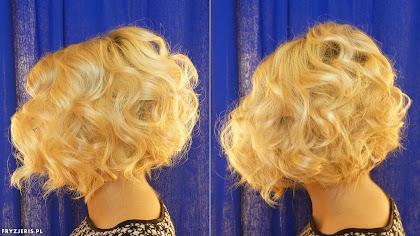 fryzura ślubna 74