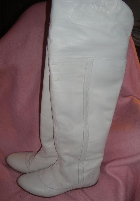 lårlange støvler læder gratis kusse