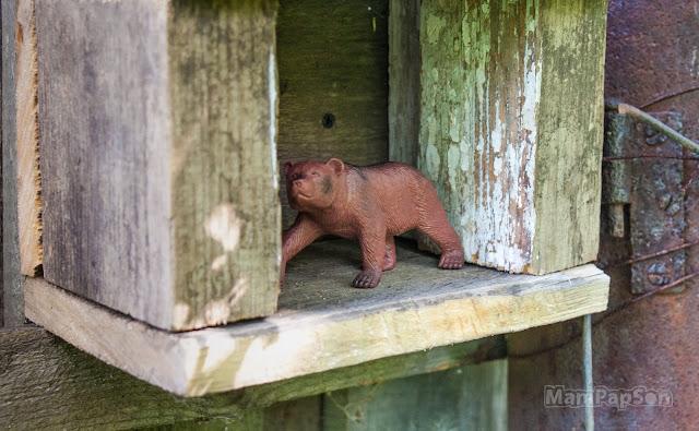 Домик для медведя