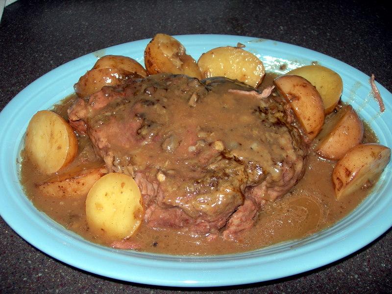 Image Result For Slow Cooker Pot Roast Red