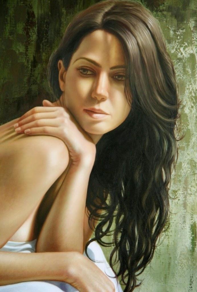 retratos-femeninos-pintados-en-hiperrealismo