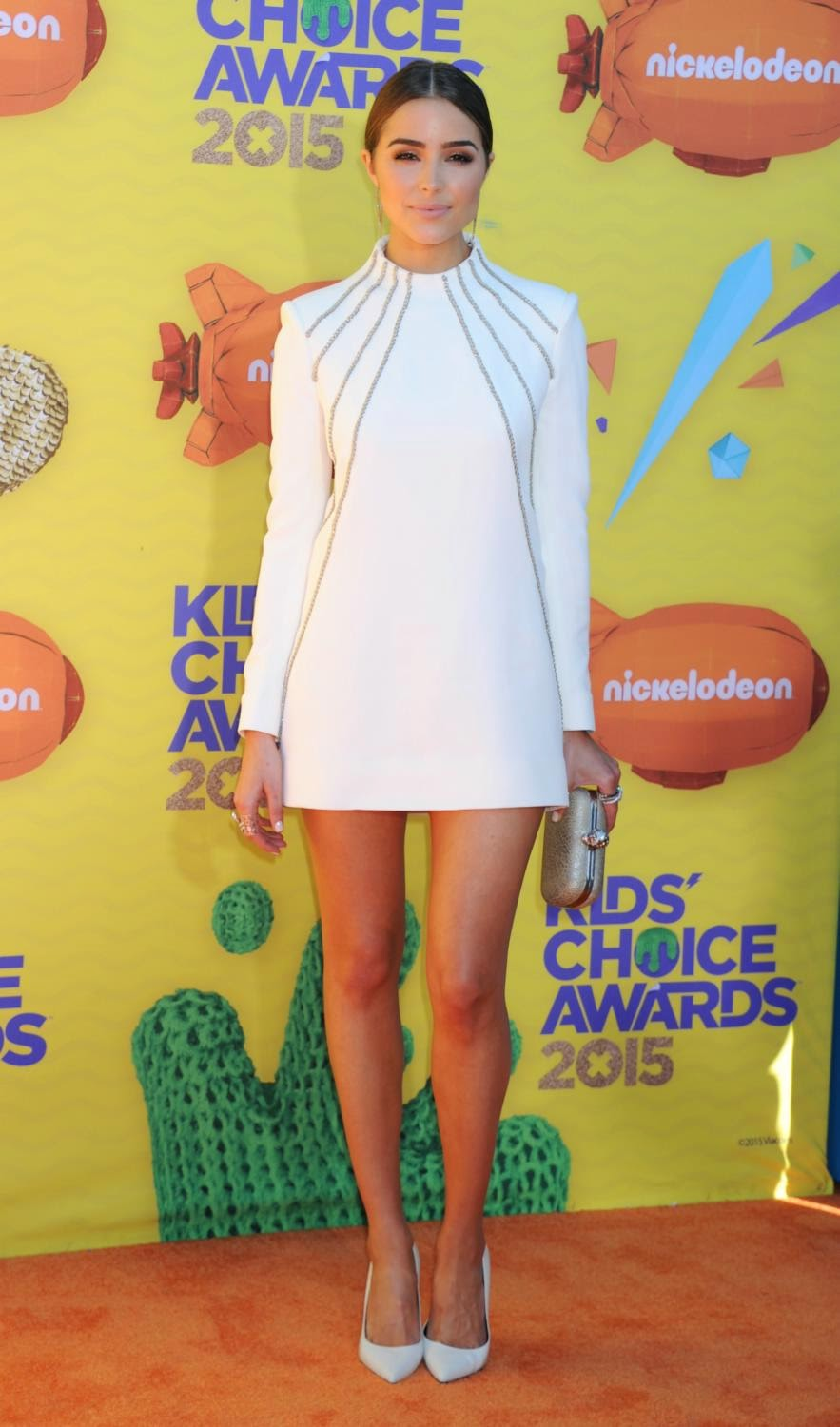 Olivia Culpo at The 28th Annual Kid's Choice Awards