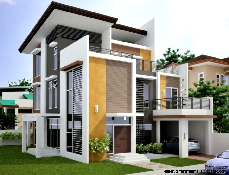 Model Rumah Modern Gallery Taman Minimalis 30 Inspirasi Desain Fasad