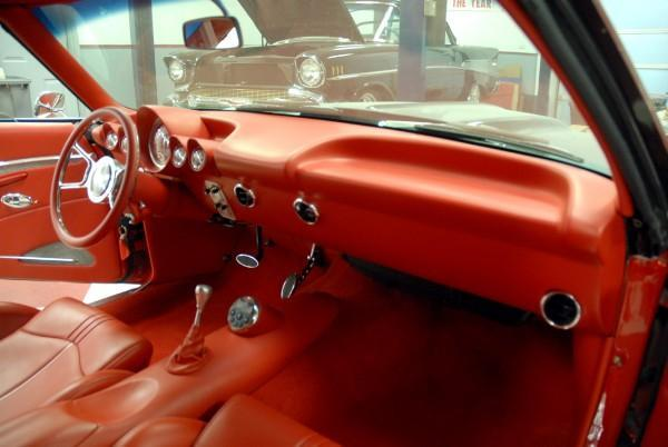 Cultura fusca estilo hot rod for Custom automotive interior designs