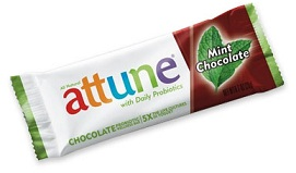 attune bars chocolate mint