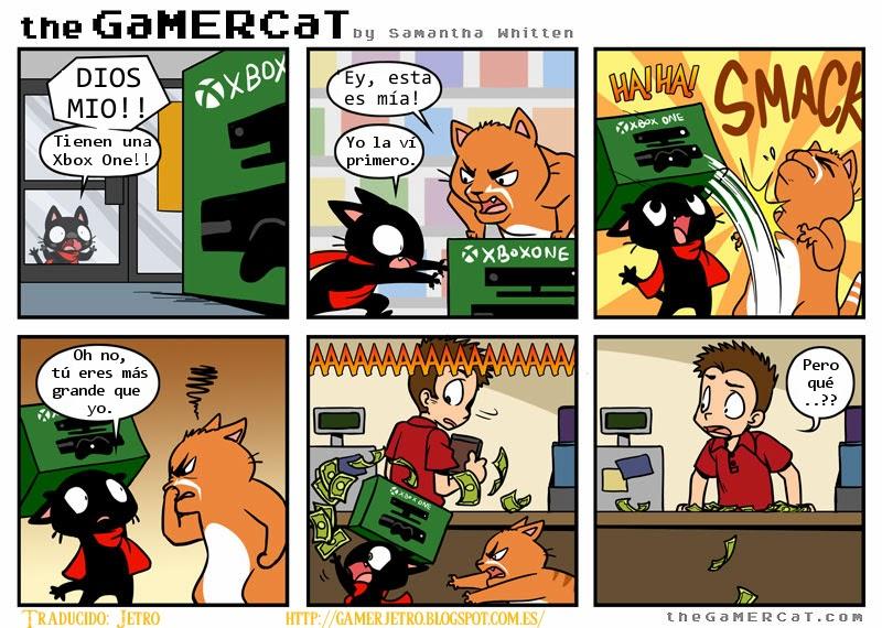 gamercat en español