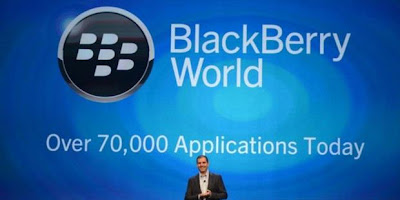 1 dari 5 Aplikasi Blackberry 10 Sumbangan Android