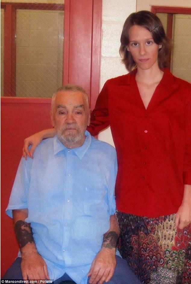 Wedding license got by Charles Manson (Serial killer)