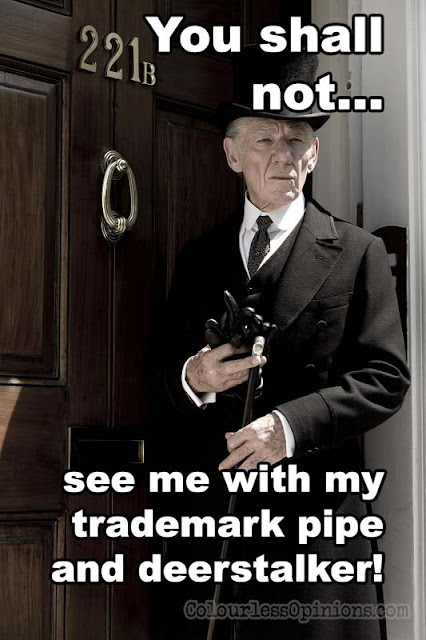 Mr. Holmes movie meme