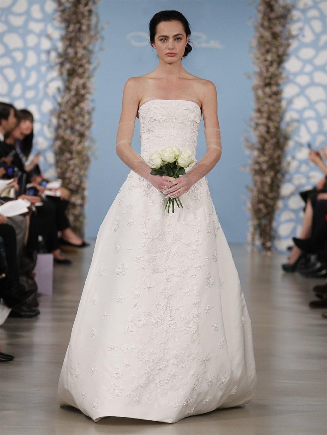 The Spring 2014 Oscar de la Renta Bridal Collection