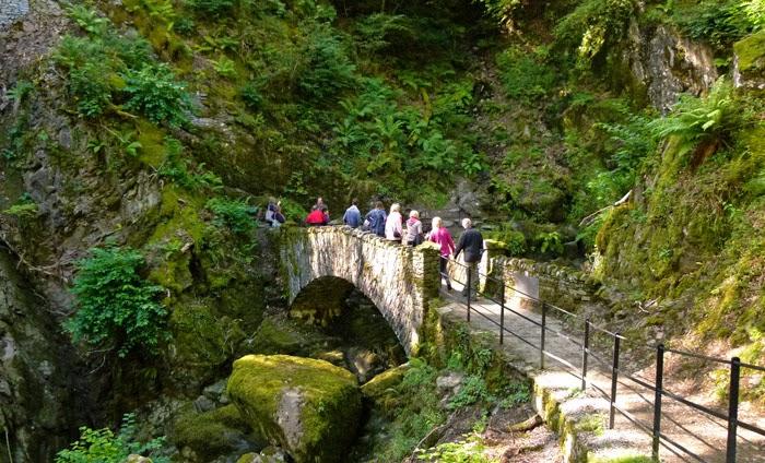 Waterfalls, England, easy walks, Lake District