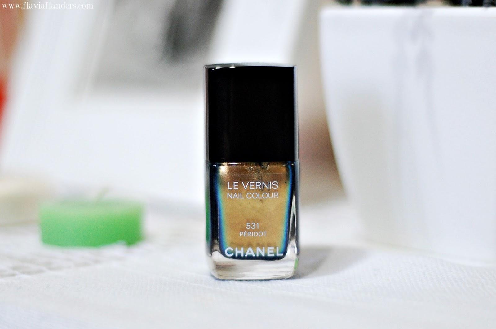 chanel, chanel nail polish, chanel peridot, chanel 531 peridot, peridot, 531 peridot, beauty, beauty blogger, beauty blogger argentina, flavia flanders, beauty guru, beauty guru argentina