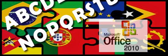 Novo acordo ortográfico microsoft office 2010