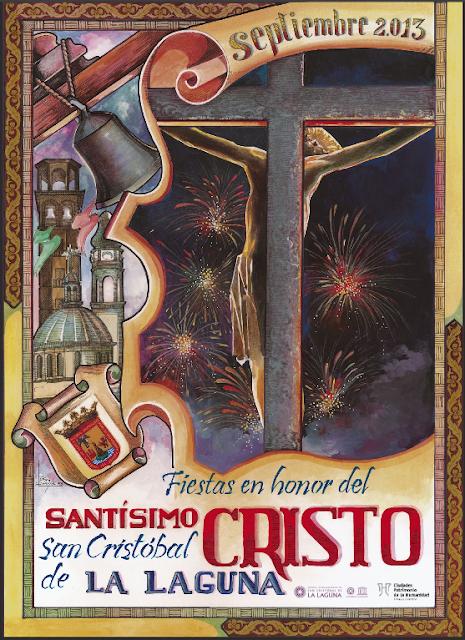 Cartel Fiestas del Cristo de La Laguna 2013