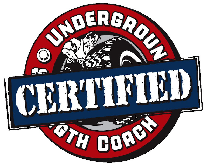 We're UNDERGROUND STRENGTH CERTIFIED