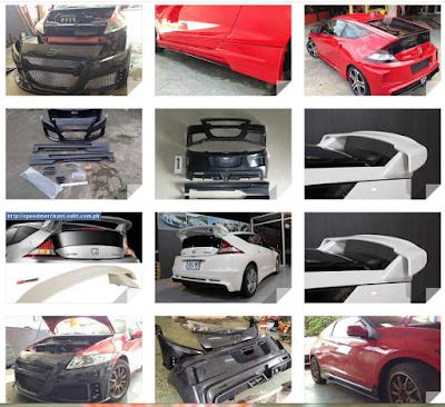 Bodykit Honda CRZ Mugen RR Facelift-Import
