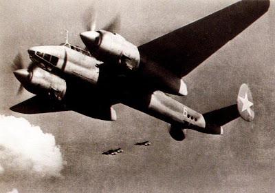 Ту-2С на боевом курсе