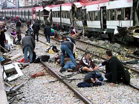 AXJ SPAIN : 11-MARCH-2004 ATOCHA TRAIN BOMBINGS RE-OPENED 11M