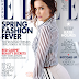 KATIE HOLMES COVERS 'ELLE'  MAGAZINE CANADA FEBRUARY 2015 ISSUE