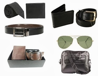 Flat 50% Extra Off on Men's Belts / Wallets / Neck-Tie Combos at HomeShop18