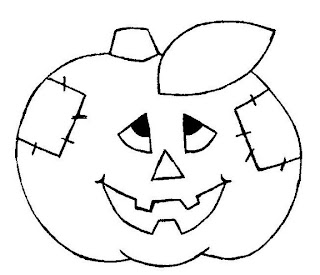 Riscos para pintura de Halloween
