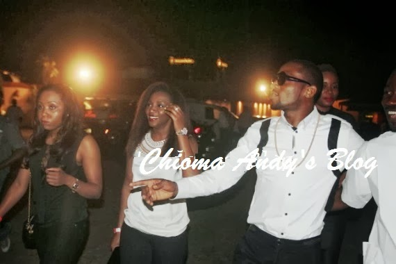 Looks Like Dbanj and Genevieve are Back Together Again chiomaandy.com