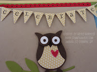 Create a miniature banner for cardmaking