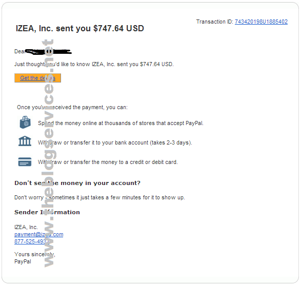 Latest Payout April 17, 2014 (Feb 2014 Earnings) izeamedia payment proof