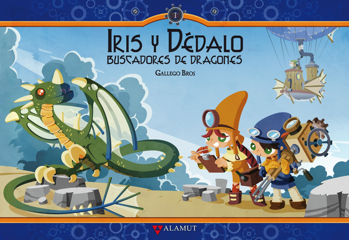 Iris y Dédalo. Buscadores de dragones