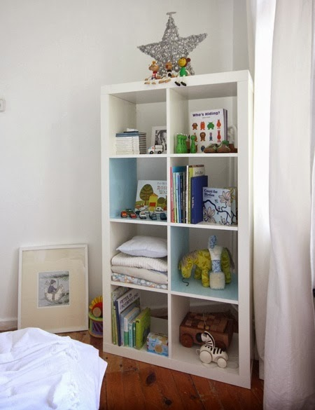 Dreams and wishes expedit shelving ideas for open storage - Comodas bebe ikea ...