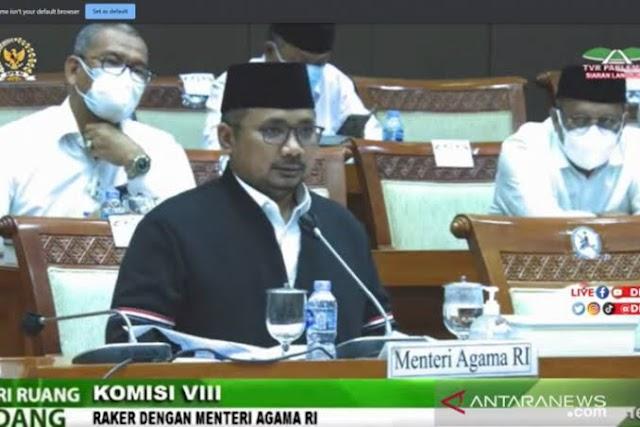 DPR Cecar Yaqut, Penyampaian Pembatalan Ibadah Haji Telan Rp21 Miliar! | LihatSaja.Com