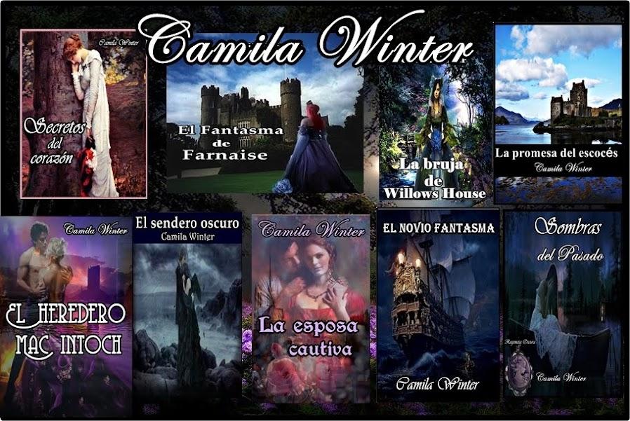 Camila Winter  escritora de romance histórico y paranormal