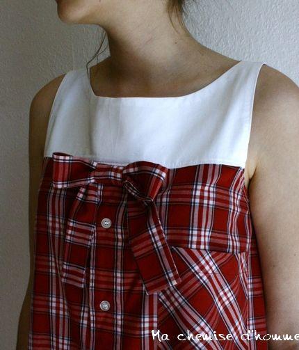 Перешить маленькую рубашку 132