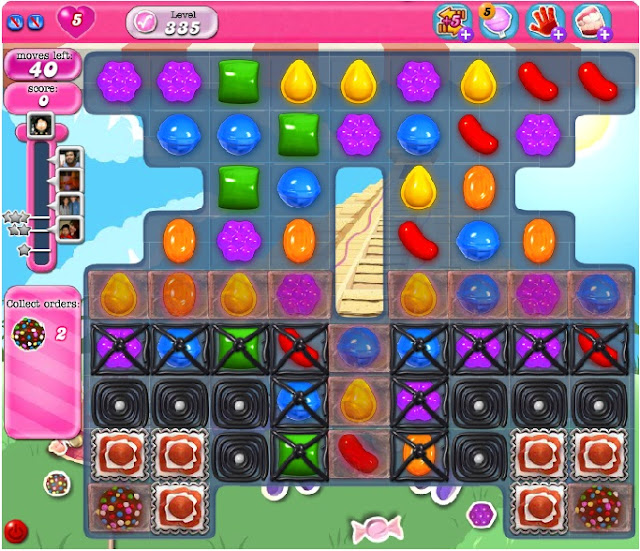 Candy Crush Saga level 335