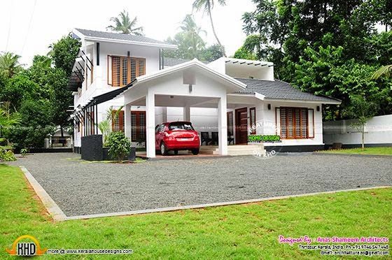 House constructed in Kerala