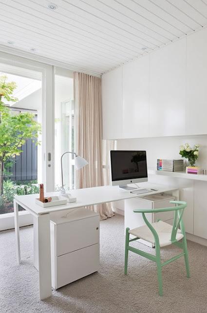desain ruang kantor di rumah inspirasi desain rumah