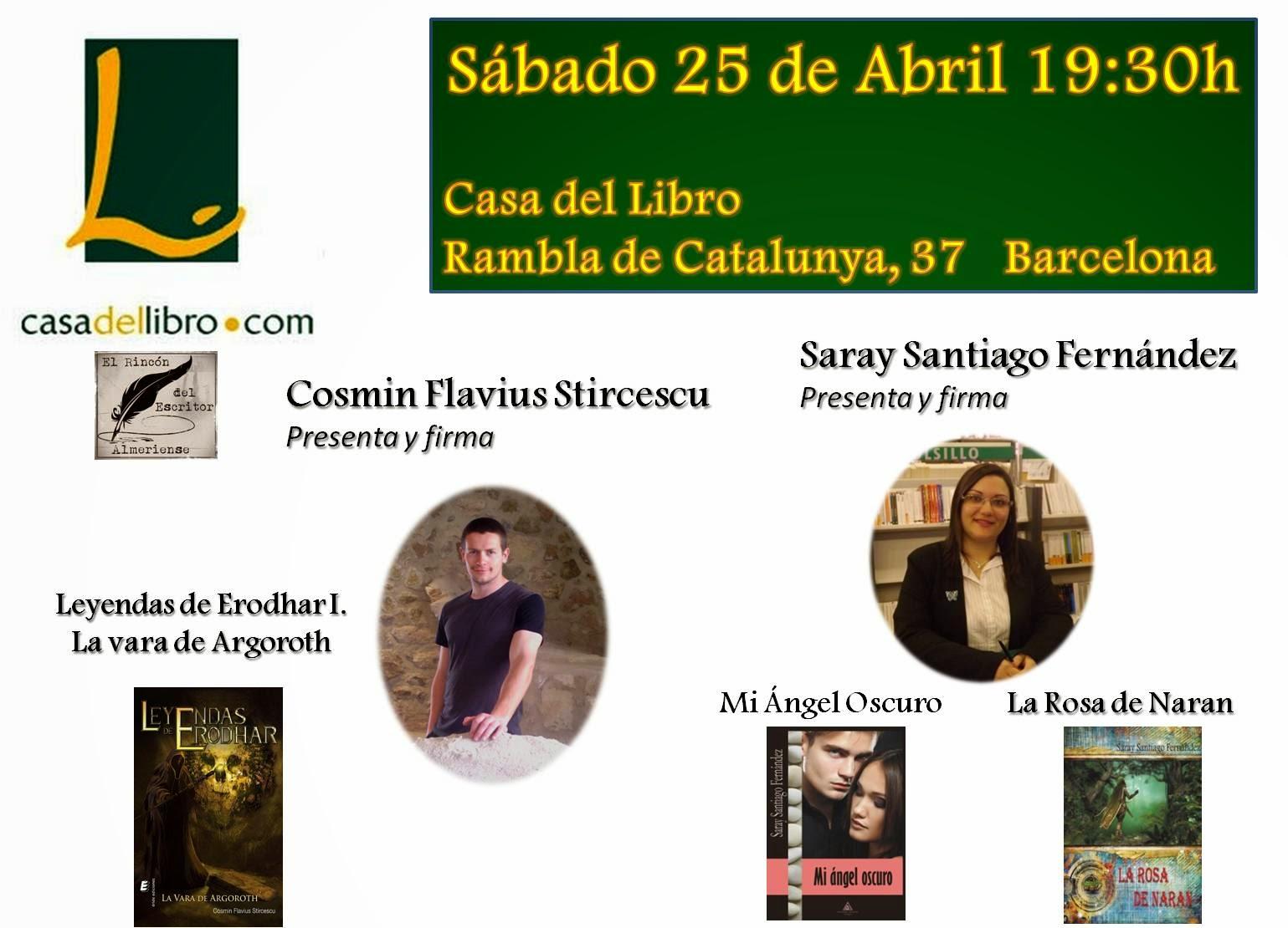 La forja de leyendas el d a del libro presentaci n librer a gigamesh - Casa del libro barcelona rambla catalunya ...