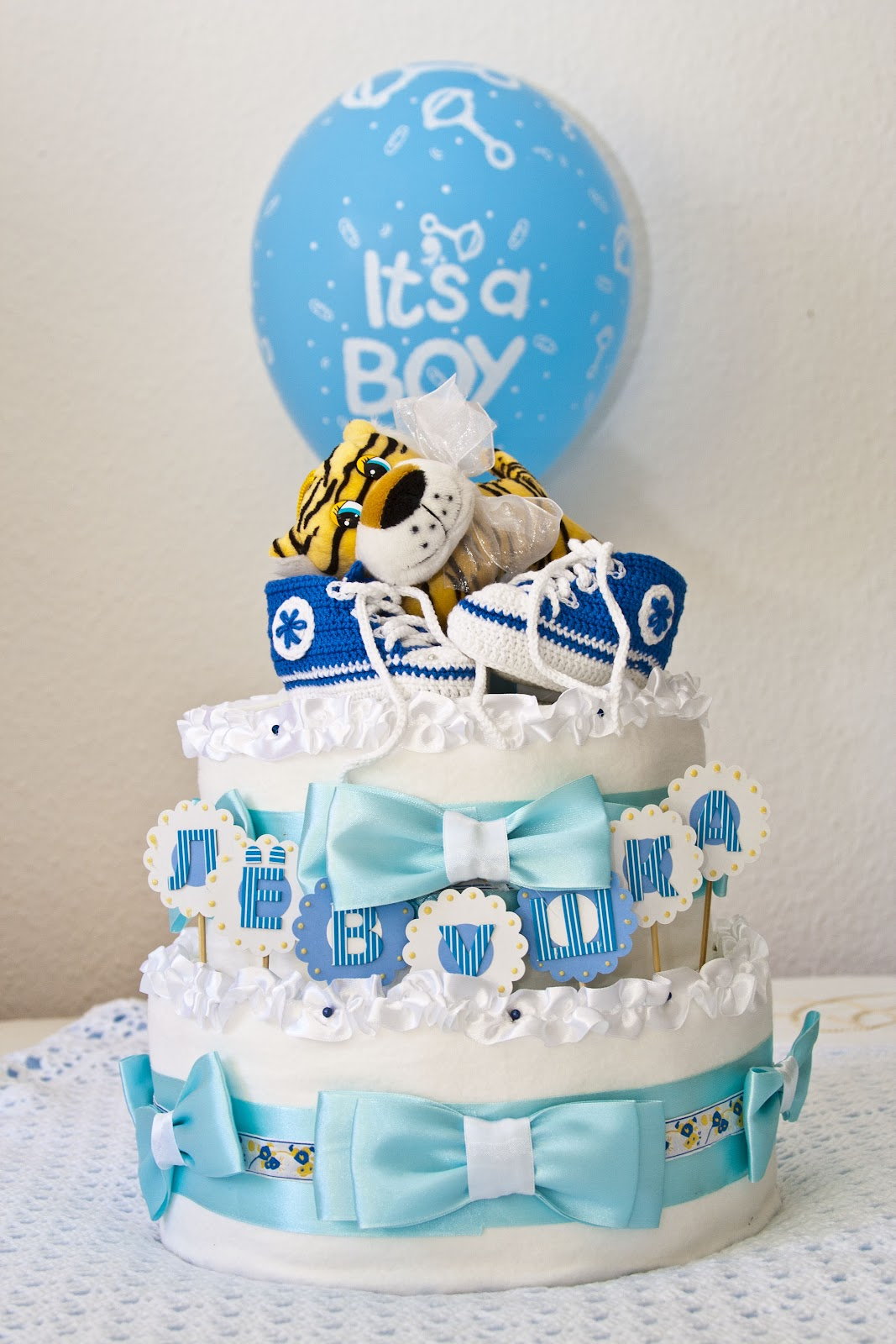 Красивые торты из памперсов своими руками - Lfprint.ru