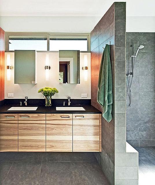 Desain kamar mandi yang ilegan adalah sangat penting unuk kenyamanan hunian sekeluarga Inilah Inspirasi Kamar Mandi Minimalis Modern