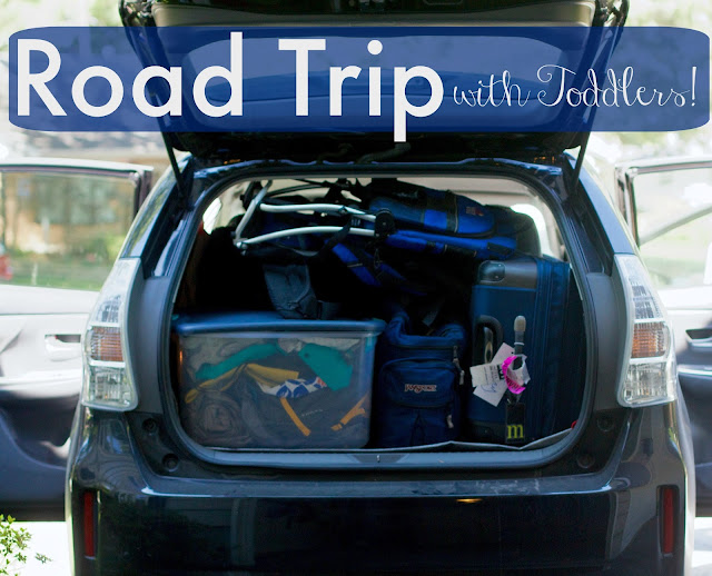 How to take a road trip with toddlers for your family vacation