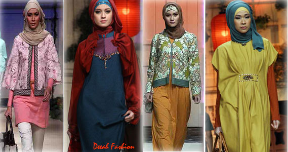 Busana Muslim Idul Fitri Terbaru 2012