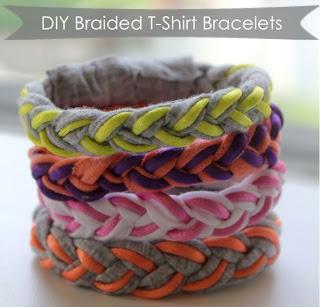 braccialetti treccia magliette