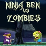 Ninja Ben vs Zombies | Juegos15.com